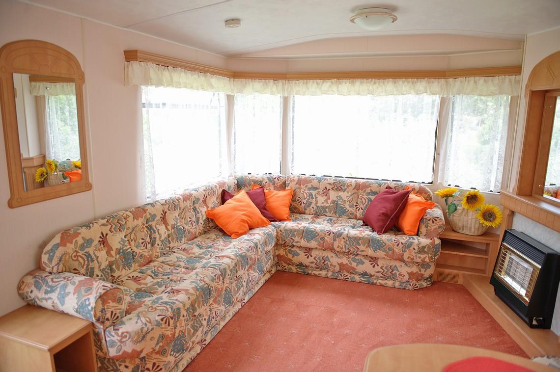 Salon wypoczynkowy dla gości apartamentu Miodowy Holiday.