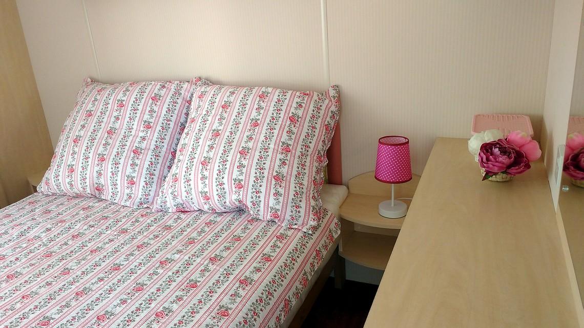 Sypialnia dla 2 osób.
